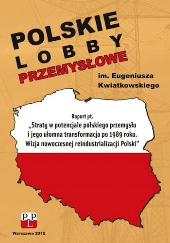 Okładka. Raportu o polskim przemyśle