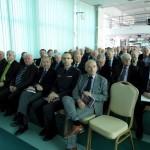 goście uroczystości 22 rocznicy PLP - od prawej Jan Lityński- Doradca Prezydenta RP
