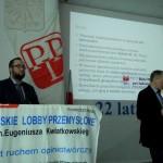wystąpienie prof. dr hab. Mirosława Sułka ( po prawej)