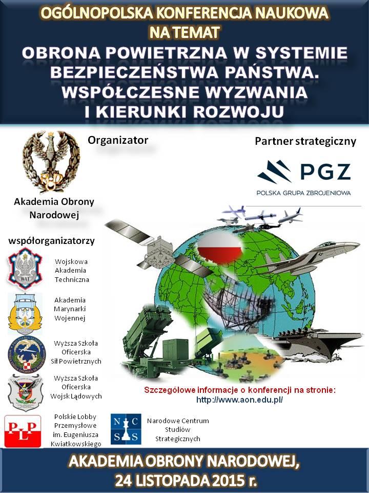 plakat konferencja OP w systemie bezpieczeństaw państwa 1