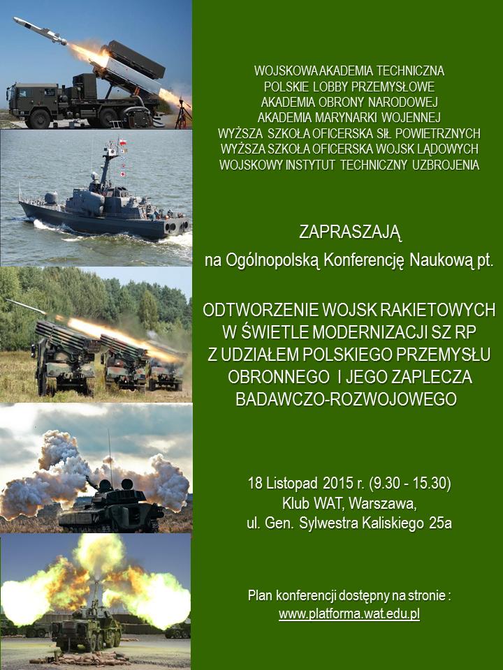 Plakat konferencji WATPLP - 2015 10 22 MK